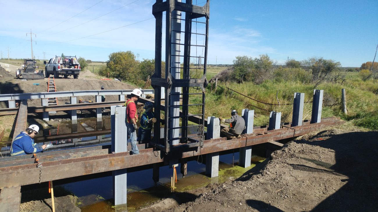 BF 7877 – Bridge Replacement over Tributary to Medicine River